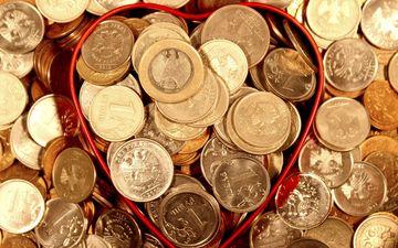 металл, деньги, монеты, рубли