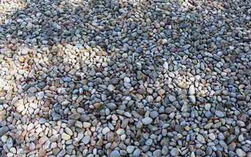 stones, pebbles, texture, a lot