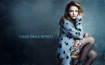 dress, pose, blonde, model, photoshoot, chloe grace moretz, chloe moretz