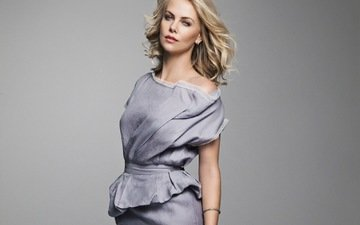 style, girl, dress, blonde, look, hair, face, actress, charlize theron