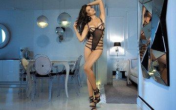 girl, model, sexy, posing, monika pietrasinska