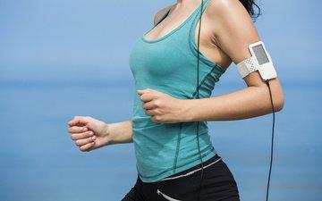 музыка, бег, плеер, тренировка, ходьба, спортивнаяодежда
