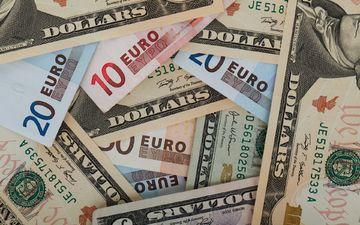 деньги, валюта, доллары, евро, банкнота