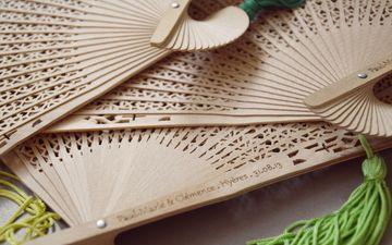 дизайн, азия, бамбук, веер, декор, ручная работа, веер декоративный