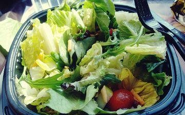 greens, vegetables, salad, lettuce