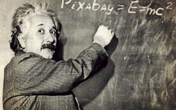 look, black and white, male, albert einstein, physicist