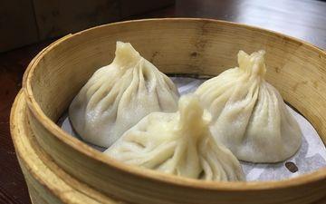 dumplings, pot, khinkali, manta, chinese dumplings
