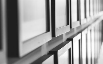 line, design, black and white, window, frame