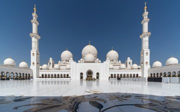 architecture, mosque, uae, abu dhabi, the sheikh zayed grand mosque
