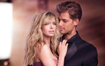 девушка, блондинка, взгляд, волосы, лицо, актриса, певица, мужчина, знаменитость, вера брежнева