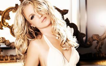 девушка, блондинка, портрет, музыка, взгляд, лицо, певица, бритни спирс