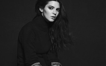 black and white, model