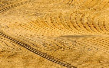 road, landscape, field