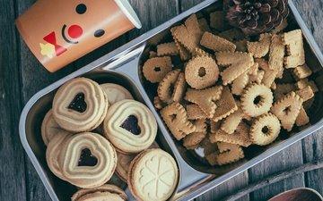 джем, сладкое, печенье, выпечка, десерт, начинка