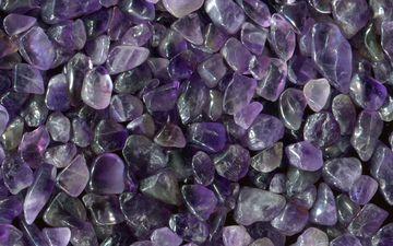 камни, фиолетовый, кристаллы, камешки, аметист, минералы, драгоценный камень