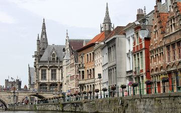 architecture, building, monument, belgium, bruges