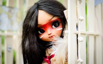 look, toy, doll, hair, face, indian