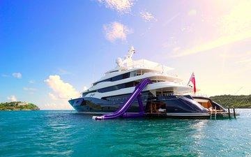 sea, islands, yacht, stay