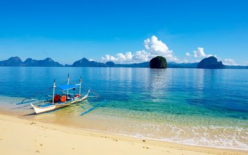 sea, beach, islands, boat, stay, tropics