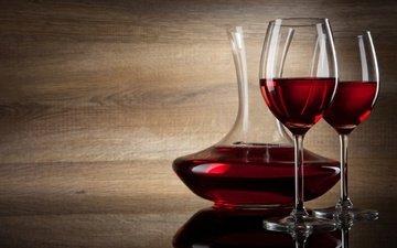 напиток, бокал, вино, алкоголь, графин