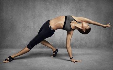 model, nike, athlete, fitness, sports wear, yoga, choreography