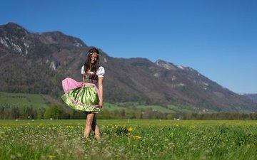 style, summer, model, legs, hair, face, nina