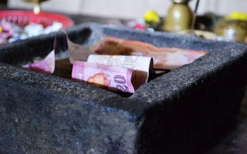 деньги, купюры, банкнота, пожертвование