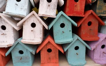 houses, roof, birdhouse, bird houses, birdhouses