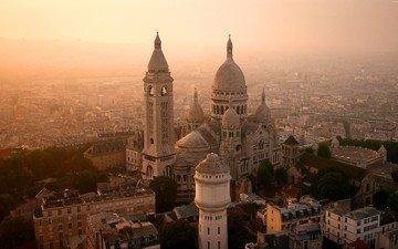 храм, париж, франция, монмартр, базилика, сакре-кёр