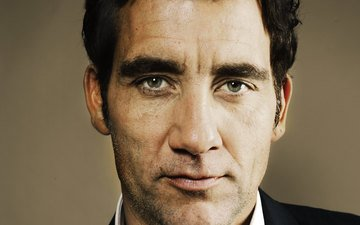 look, actor, face, male, clive owen