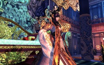girl, look, hair, the game, face, the throne, queen, blade & soul