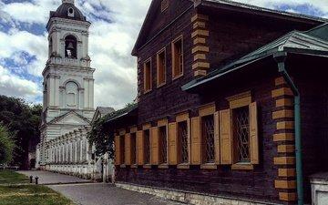 москва, город, дом, россия, церковь, архитектура