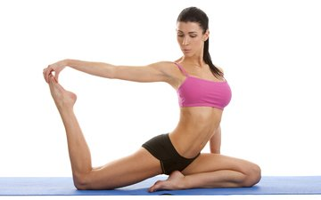 girl, pose, feet, stretching, fitness, yoga, exercise
