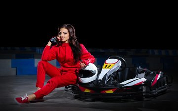 smile, form, sport, karting, training, varvara snegireva, kartingistov, carting, racer