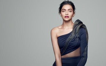 girl, brunette, look, hair, face, actress, makeup, celebrity, bollywood, deepika padukone