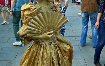 стиль, девушка, италия, праздник, парад