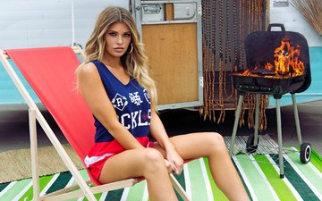 girl, look, fire, model, legs, hair, face, samantha hoopes