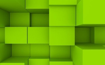 цвет, графика, кубики, квадраты, кубы, объем, 3д