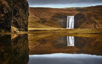 река, природа, водопад, осень, etienne ruff