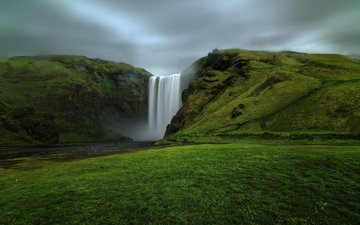 river, nature, waterfall, iceland, etienne ruff