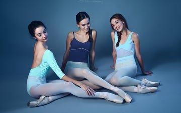 поза, улыбка, девушки, модель, ножки, сидя, lupe jelena, балерины