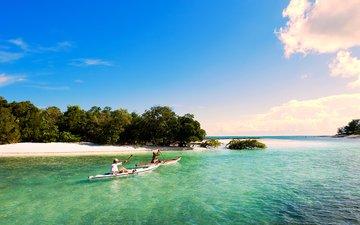 море, пляж, лодки, 10