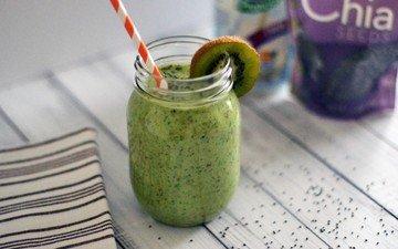 drink, kiwi, smoothies