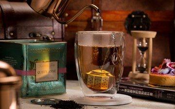 чай, стакан