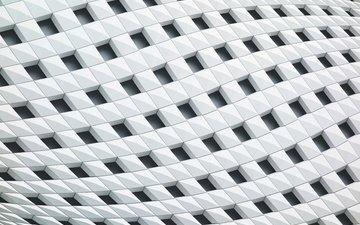 текстура, узор, белый, квадраты, геометрия, структура, форм