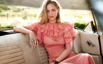 decoration, dress, blonde, machine, summer, actress, celebrity, jennifer lawrence