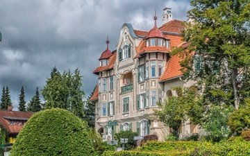 австрия, дом, архитектура, особняк, michael dittrich, фельден