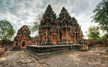 камбоджа, ангкор ват, храмовый комплекс