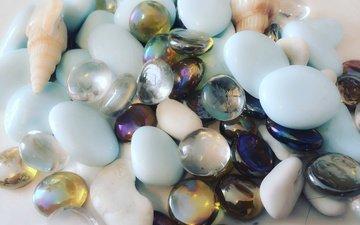 камни, камень, ракушки, ракушка