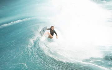 девушка, море, волна, фильм, актриса, серфинг, отмель, блейк лайвли